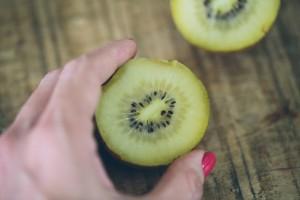 Kiwi como lanche