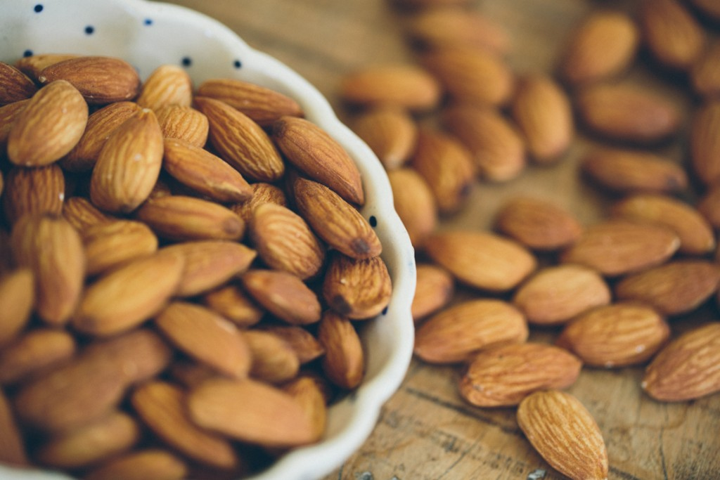 almonds and stress