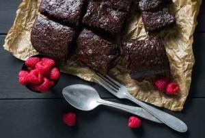 brownie de feijao azuki