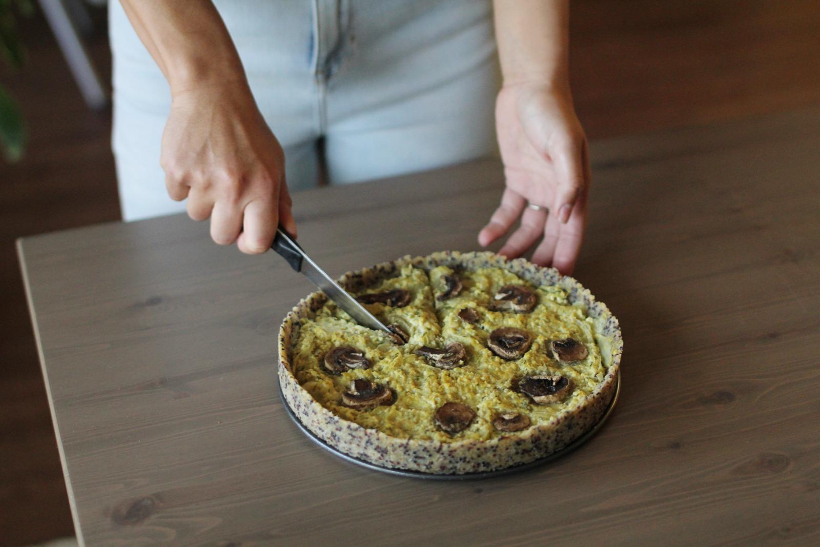 Torta salgada sem gluten