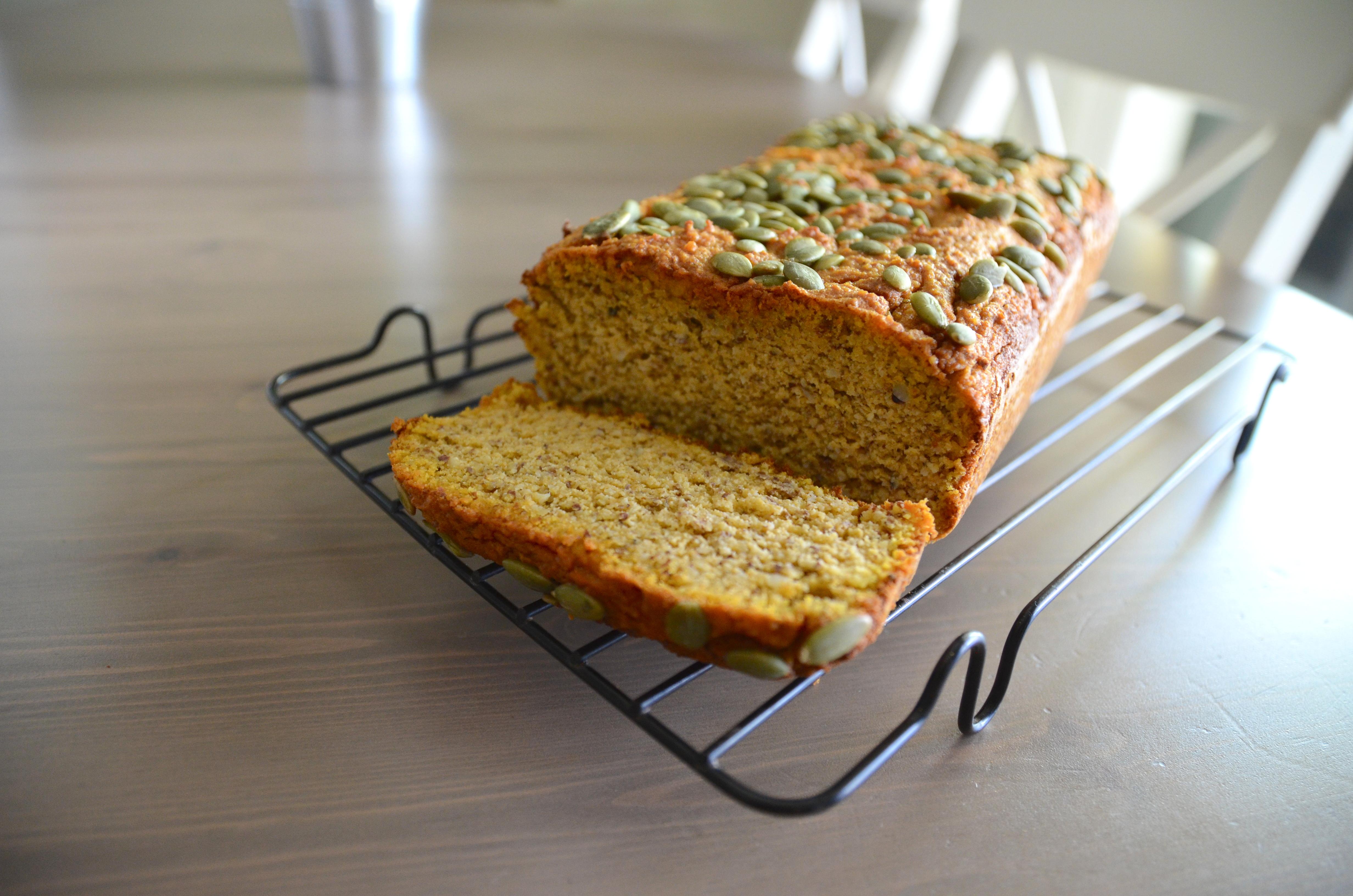 grain free sweet potato bread