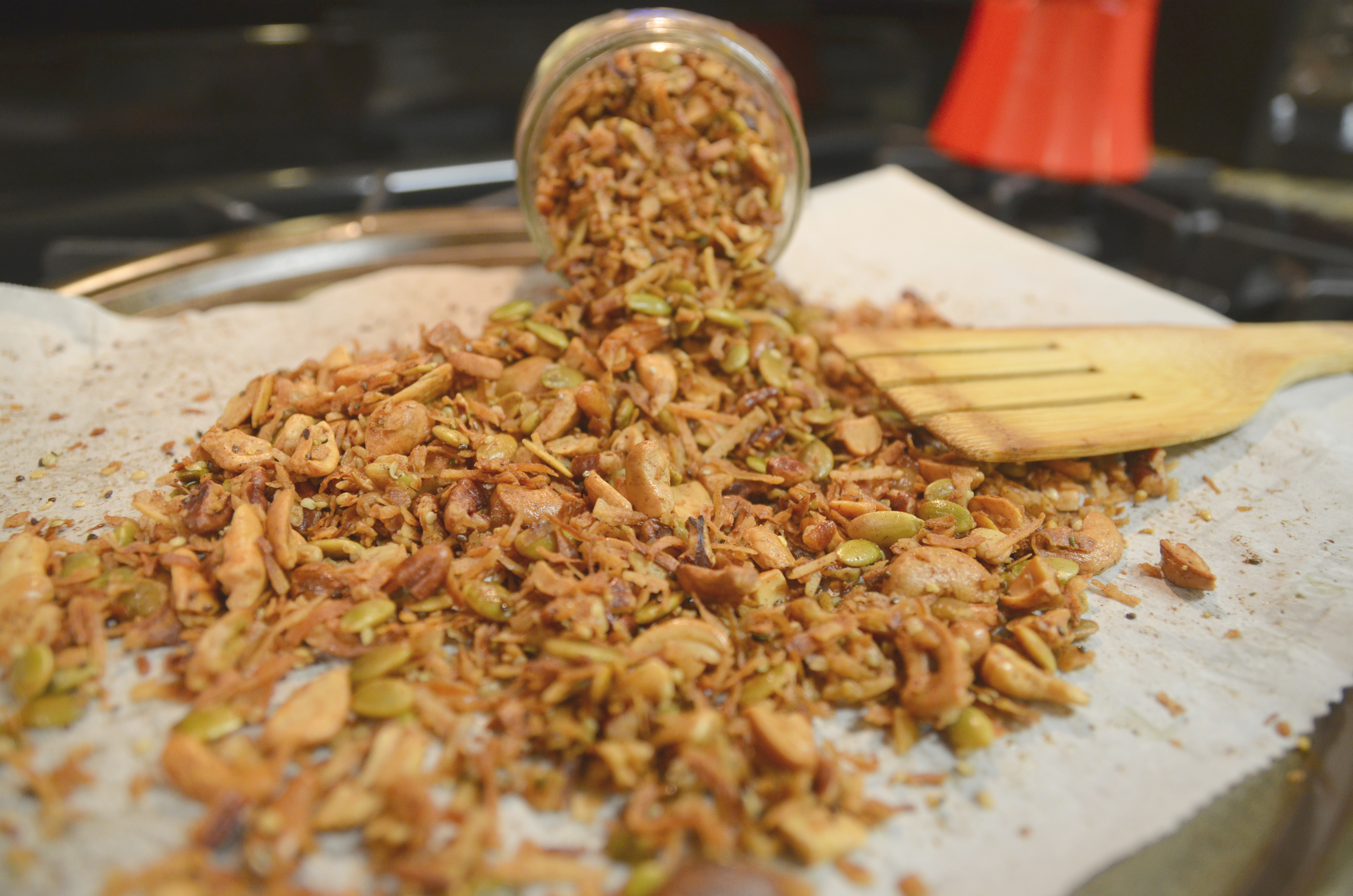 Coconut & cashew Granola