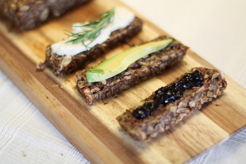 Pão integral sem gluten
