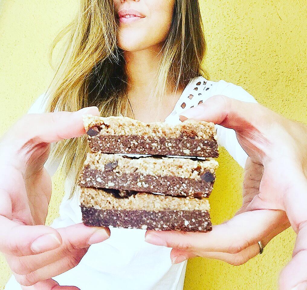 Raw Brownie & Cookies Bar