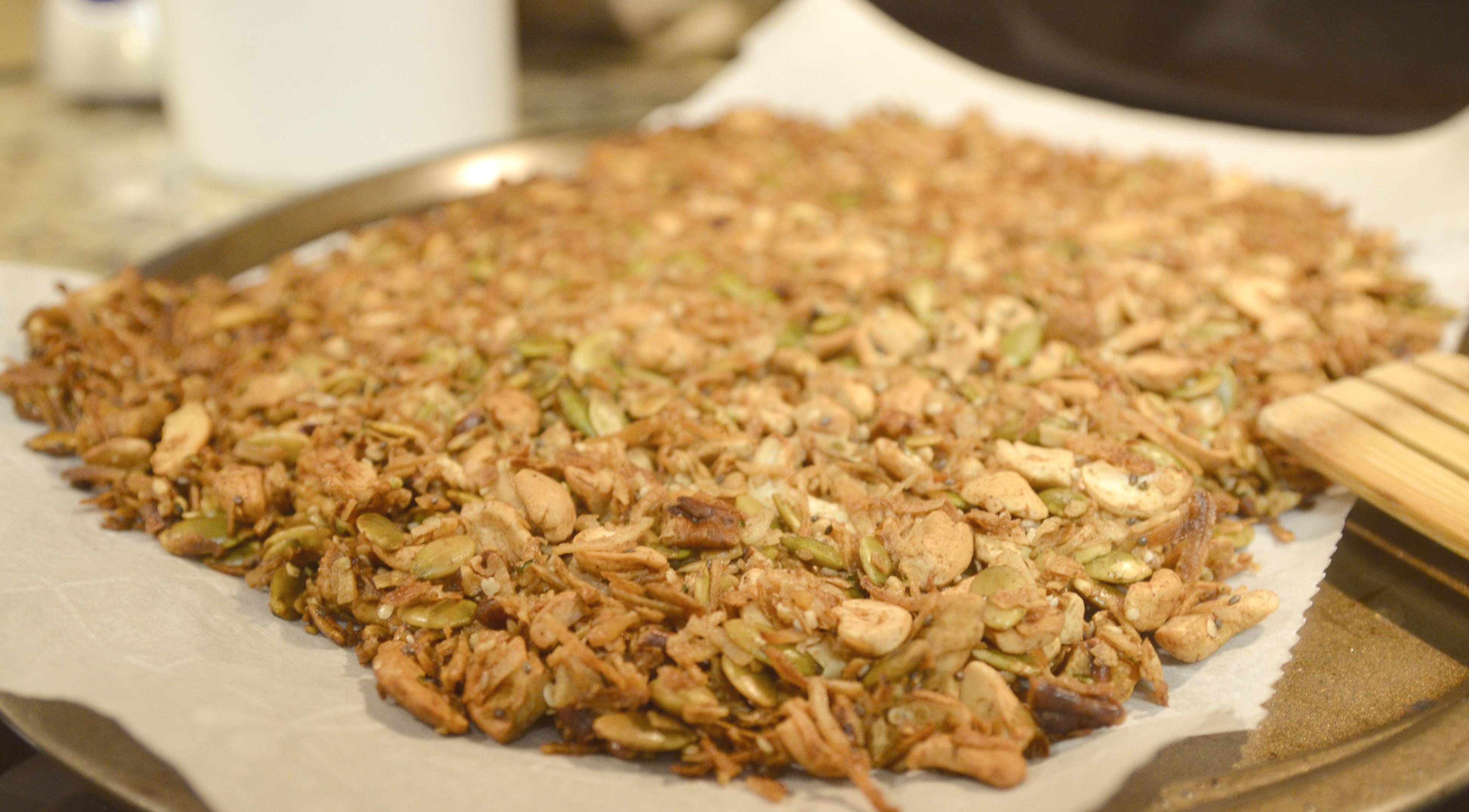 granola sem graos e sem gluten
