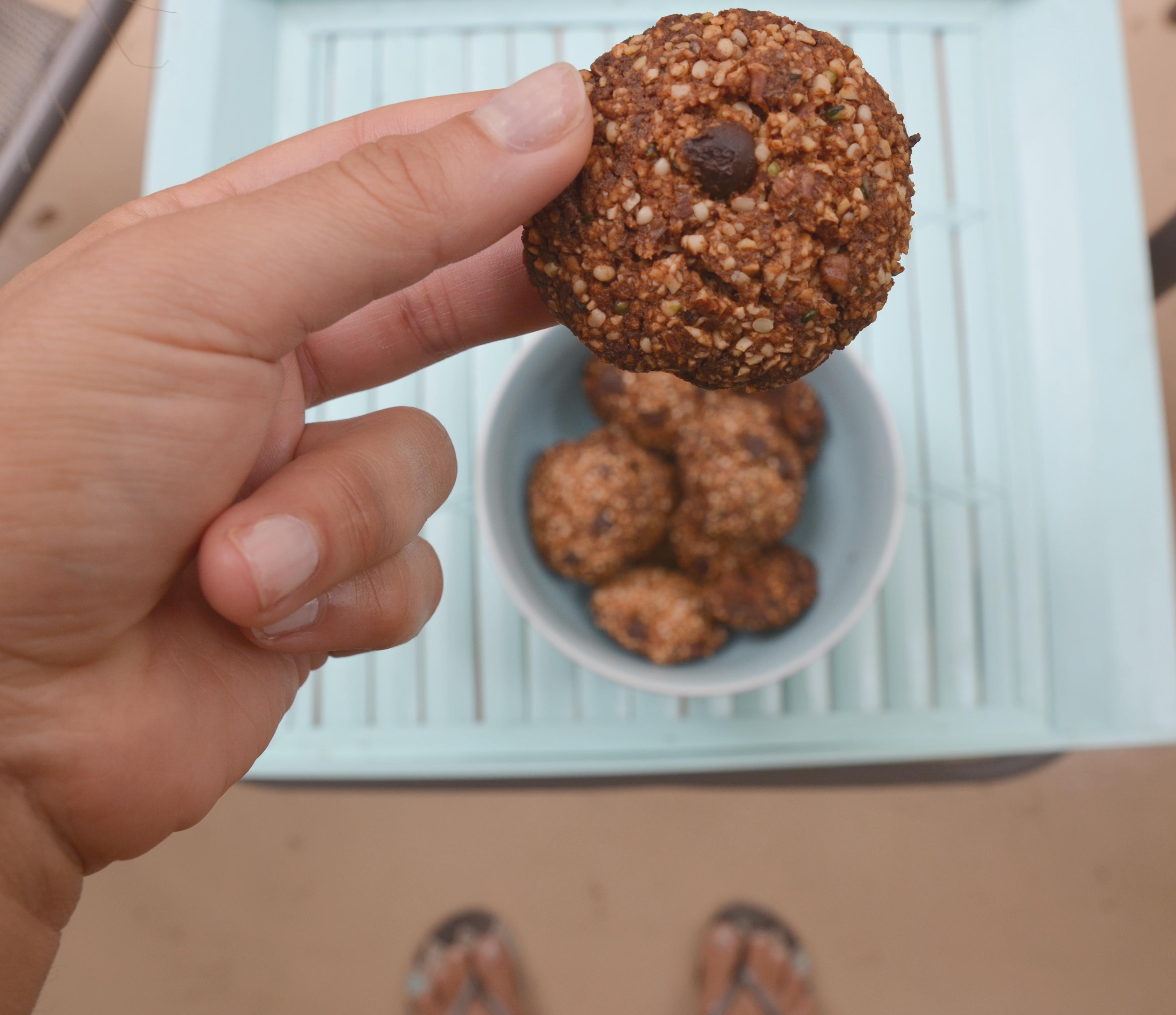 cookies sem grãos e sem glúten